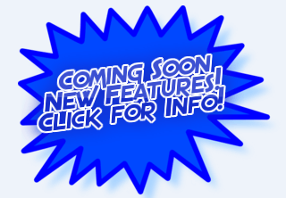 "Blue Starburst with text ""Coming Soon New Features Click for more info"""